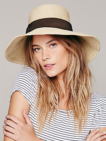 Collins Straw Brim Hat