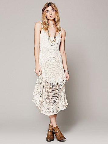Sunny Day Crochet Dress
