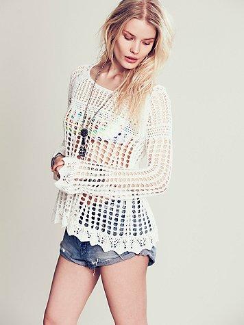 Annabelle Crochet Pullover