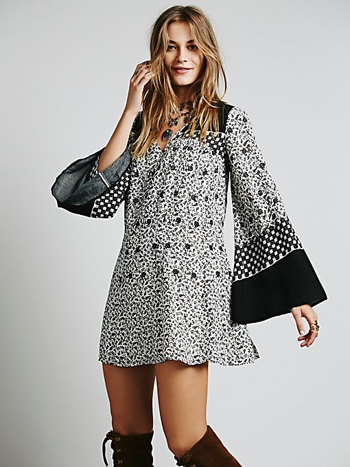 Dreamy Daze Print Dress