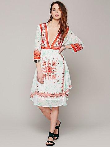 FP New Romantics Flower Crown Dress