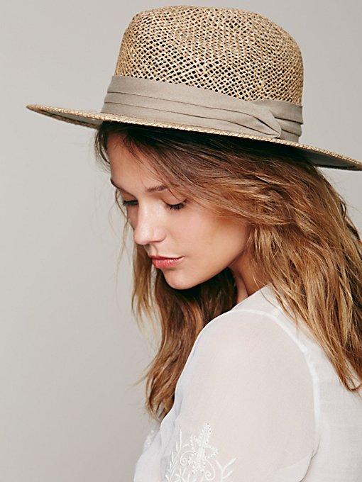 Rush Straw Fedora Hat