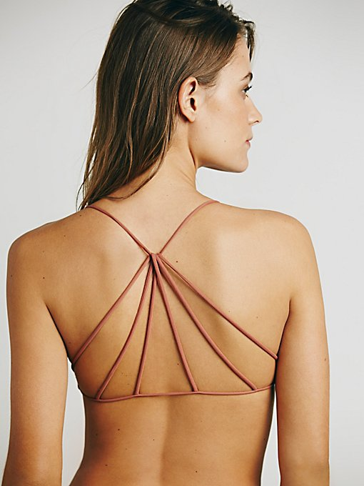 Strappy Back Bra