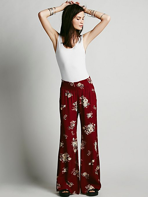 FP ONE Floral Hippie Pant