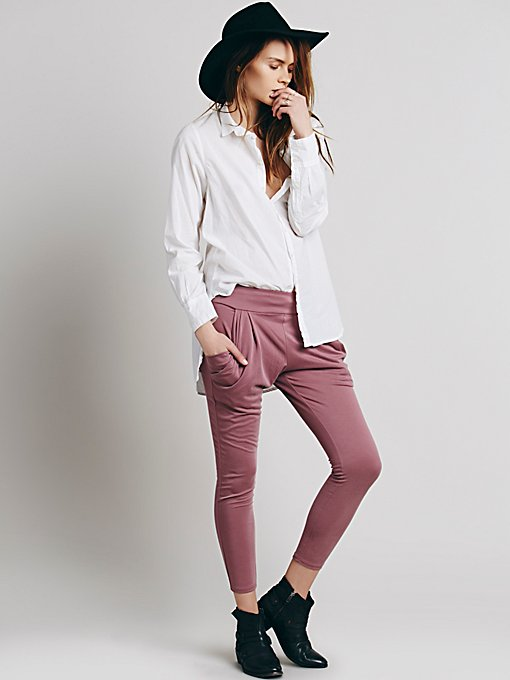 Drapey Pocket Pant