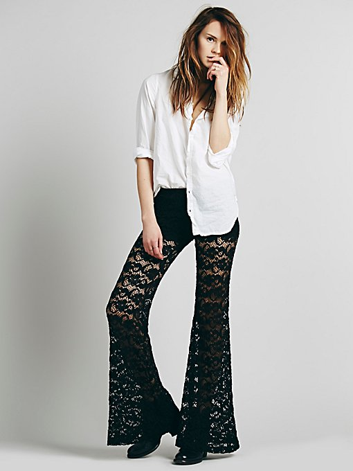 Dixie Lace Flares