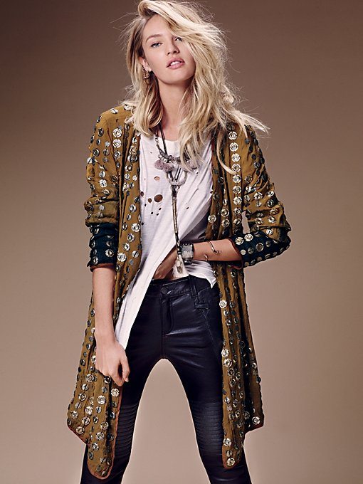 Crossed Coin Jacket
