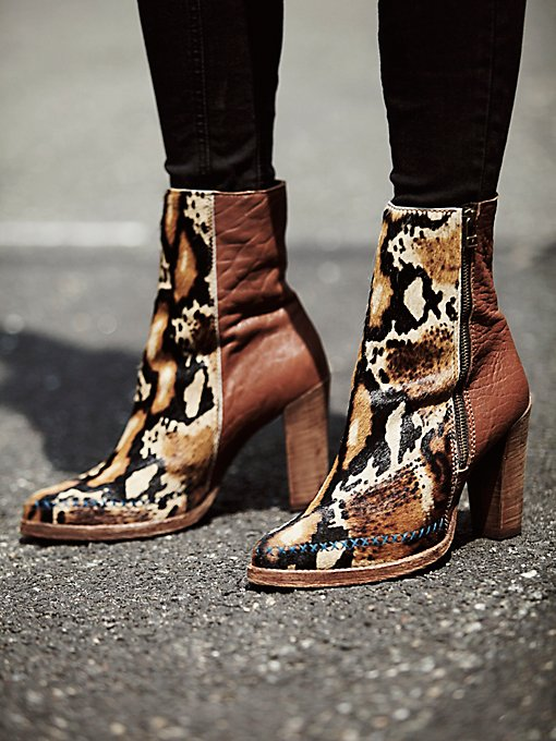 Baroness Heel Ankle Boot
