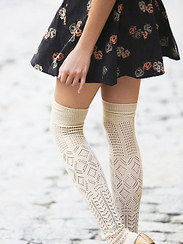 Amazing Pointelle Thigh High