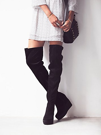 Mind and Matter Over the Knee Boot