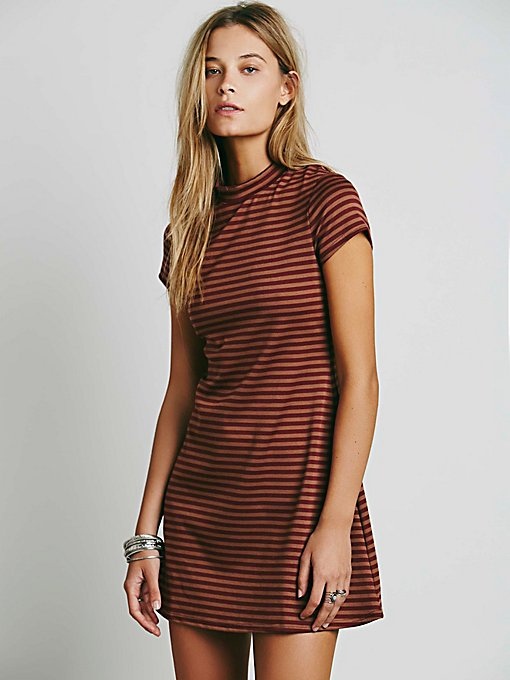 On the Line Ponte Dress