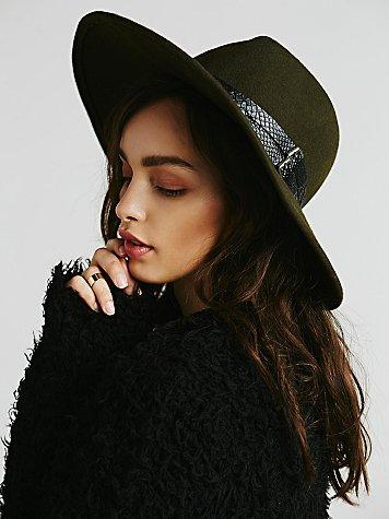 Embellished Matador Hat