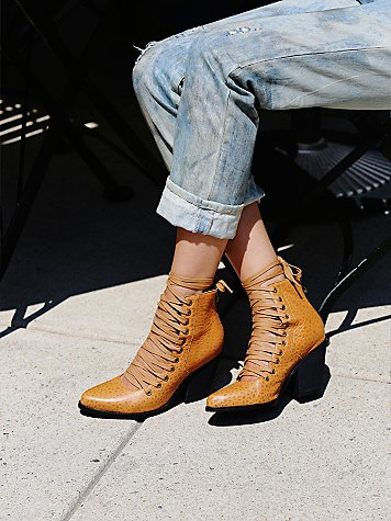Sidney Lace Up Boot