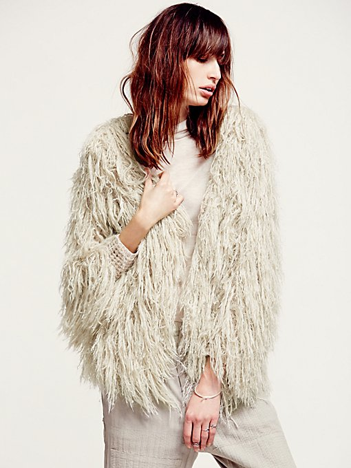 Faithful Shaggy Jacket