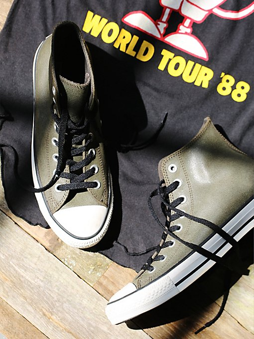 Vintage Leather Travel Chucks