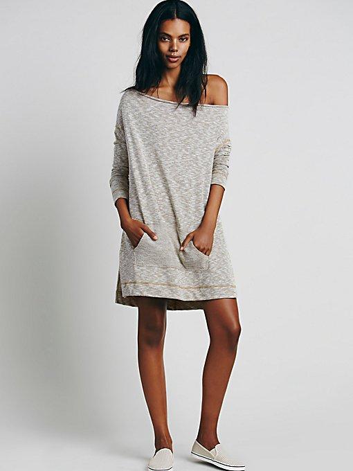 Slouchy Cowl Mini Dress