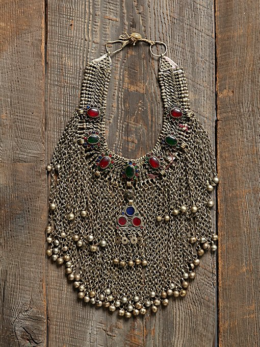 Vintage Chain Neckpiece