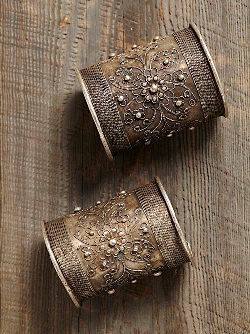 Vintage Large Decorative Cuff
