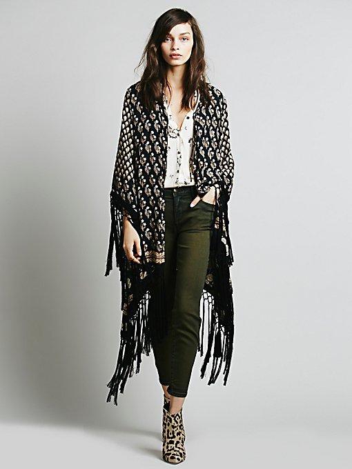 Bohemian Royale Tassel Kimono