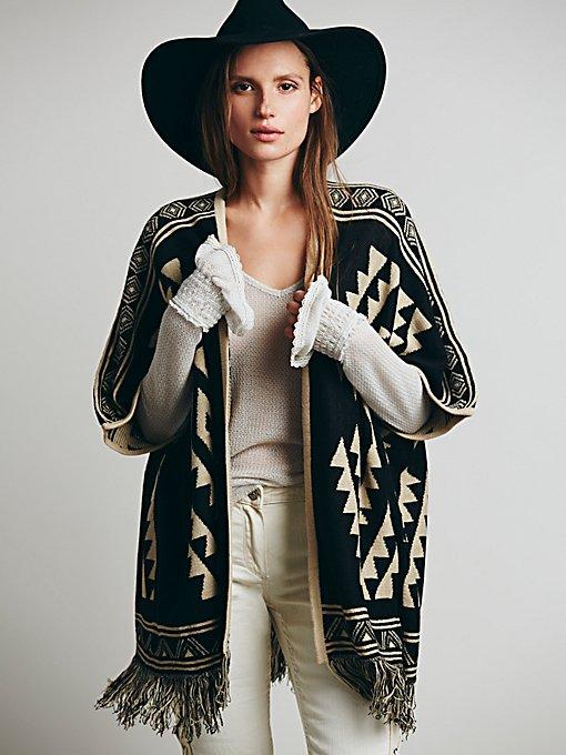 Geo Zig Zag Kimono