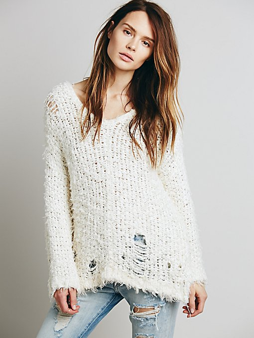 Up the Ladder Pullover