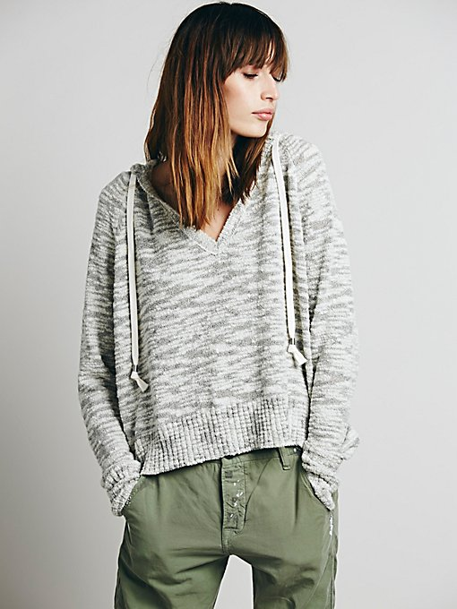 Solid Boxy Hoodie