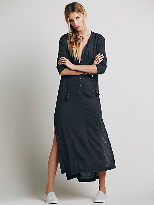 Knock Him Down Shirt Dress