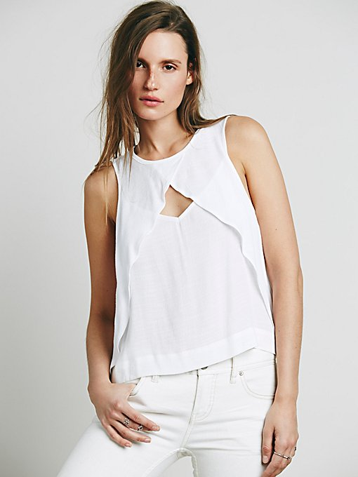 Tempt Me Triangle Top