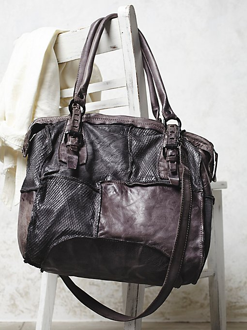 Brooklyn Leather Tote