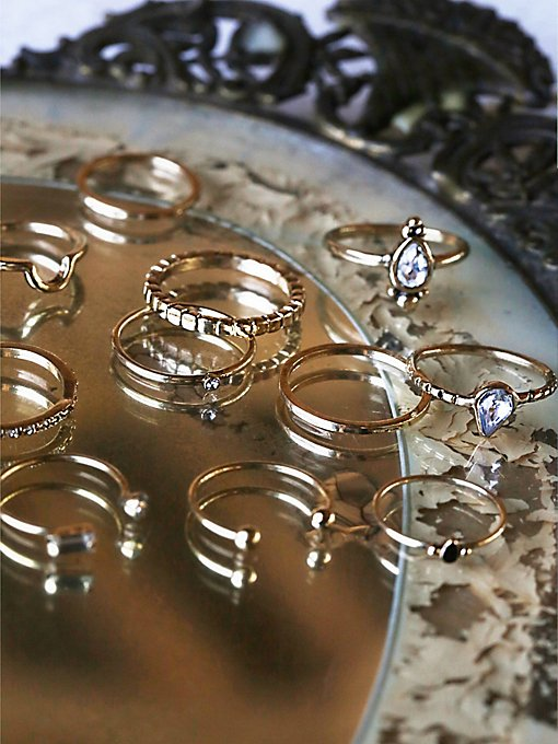 Mega Mix N Match Ring Set