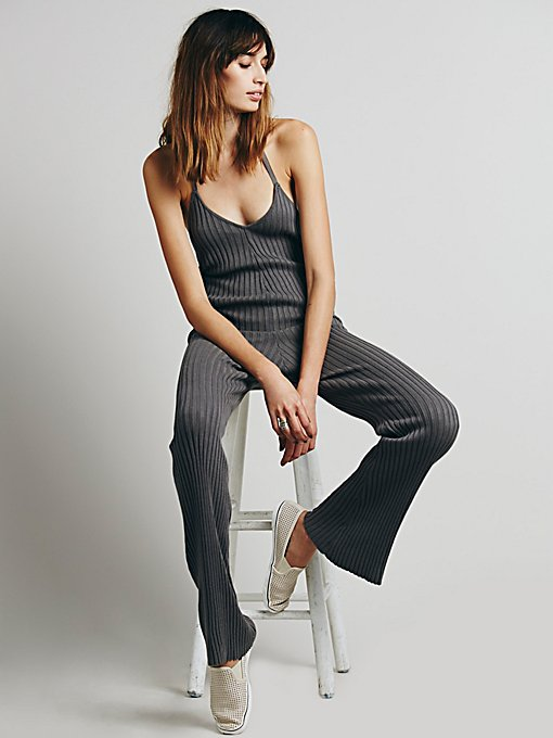 Back to Basic Cable Jumpsuit