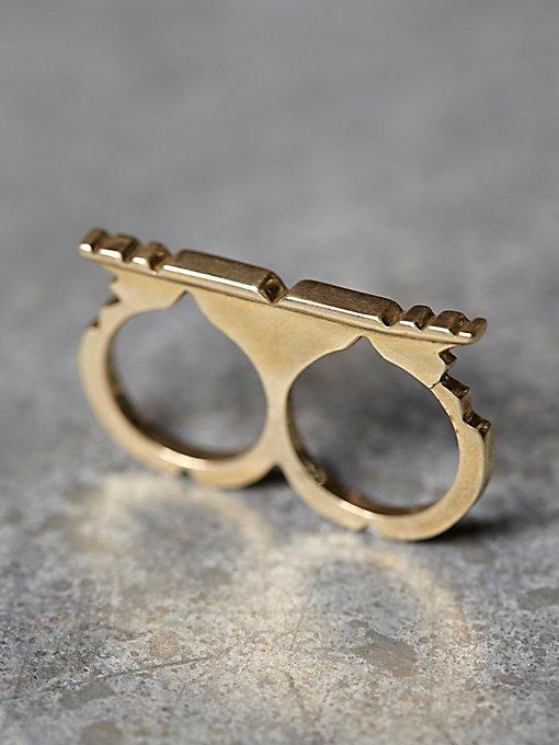 Tuareg Double Ring