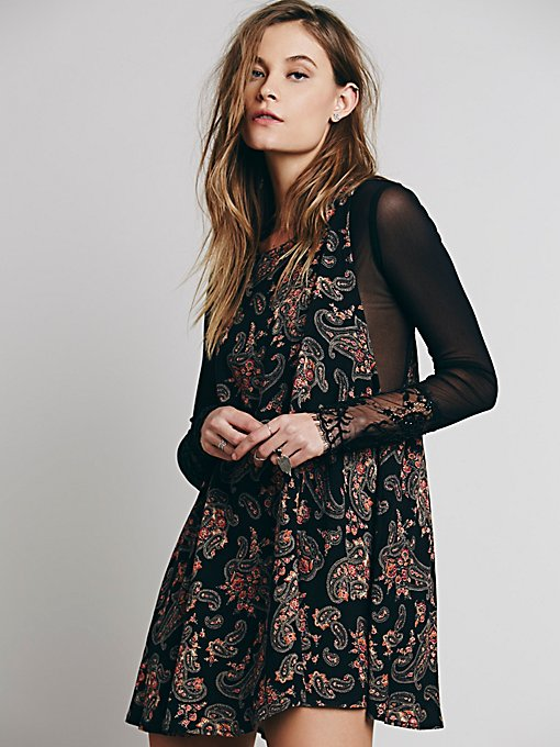 Folk Song Mini Dress