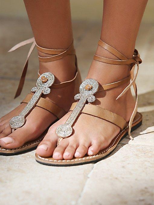 Henley Beaded Sandal