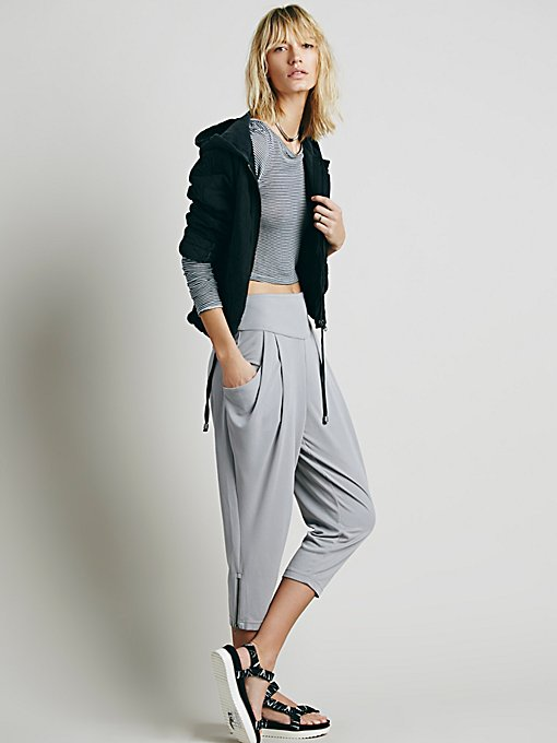 Cropped Knit Pant