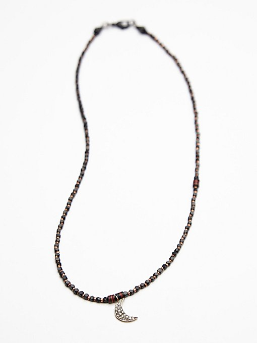 Vulcanite Diamond Collar