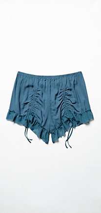Ruched Shorties