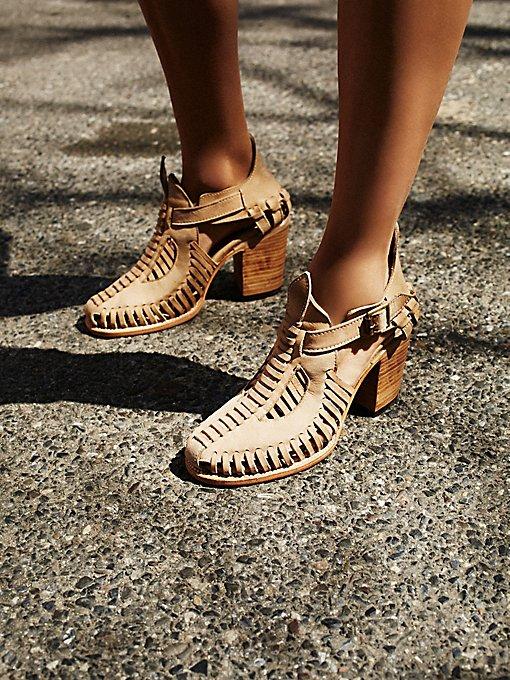 Impression Heel Boot