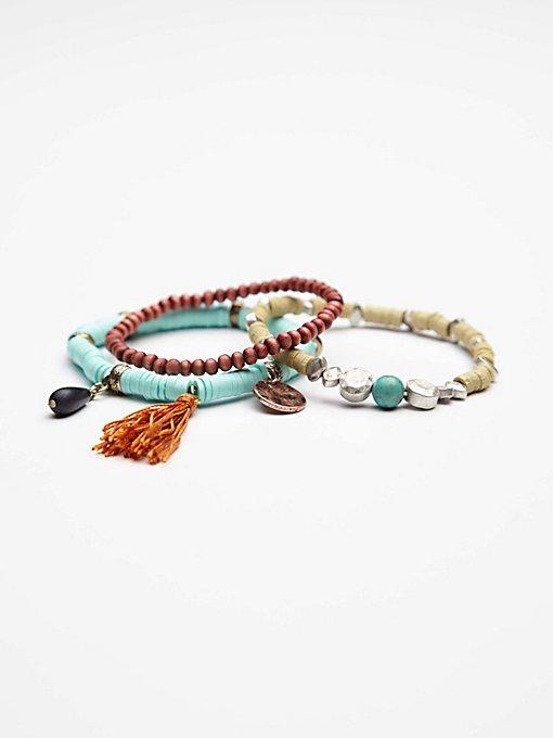 Mantra Beaded Bracelets