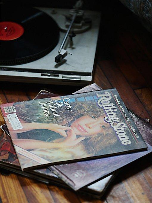 Vintage Rolling Stone Magazine