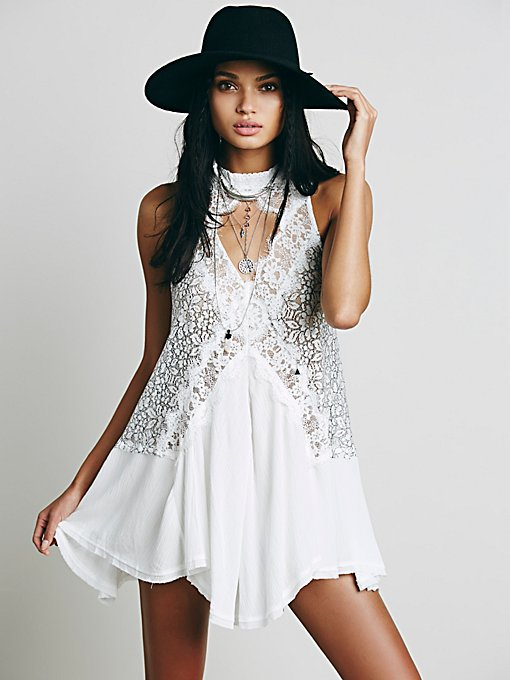 Cross My Heart in Lace Tunic