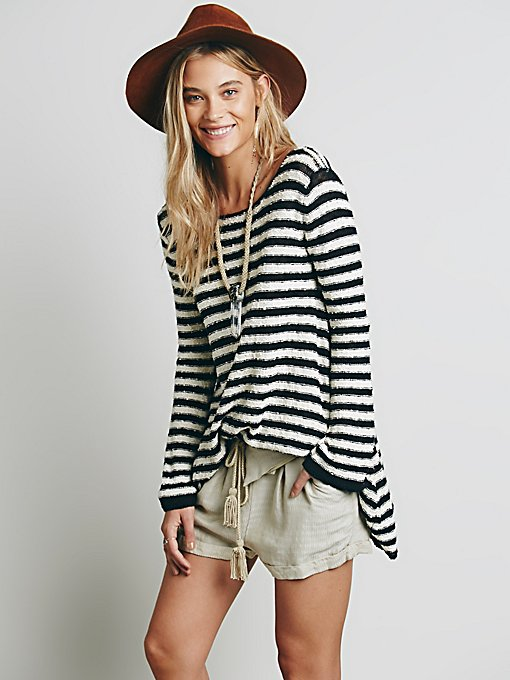 Counting Stripes Swing Tunic