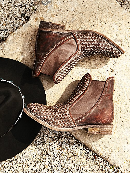 Panama Woven Chelsea Boot