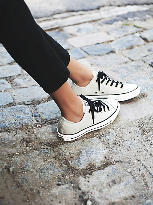 Vintage Leather Low Tops