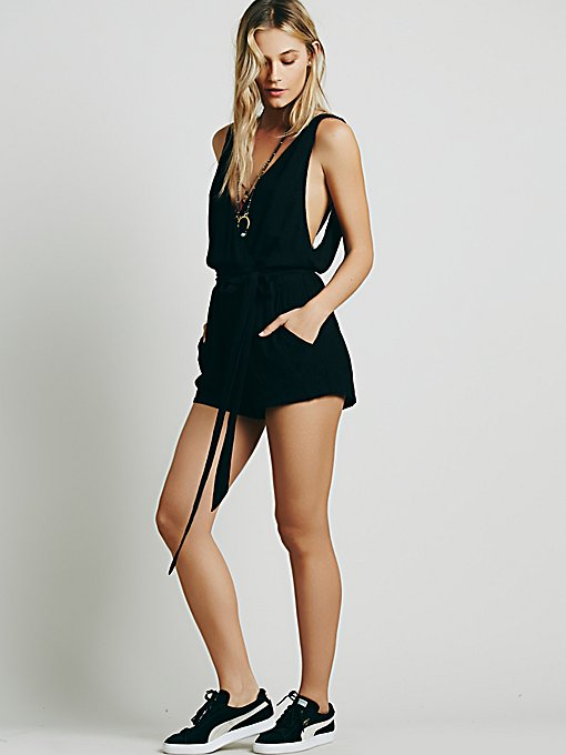 Mariah Twisted Romper