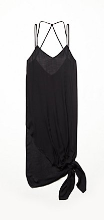 Knotted Tie Up Slip