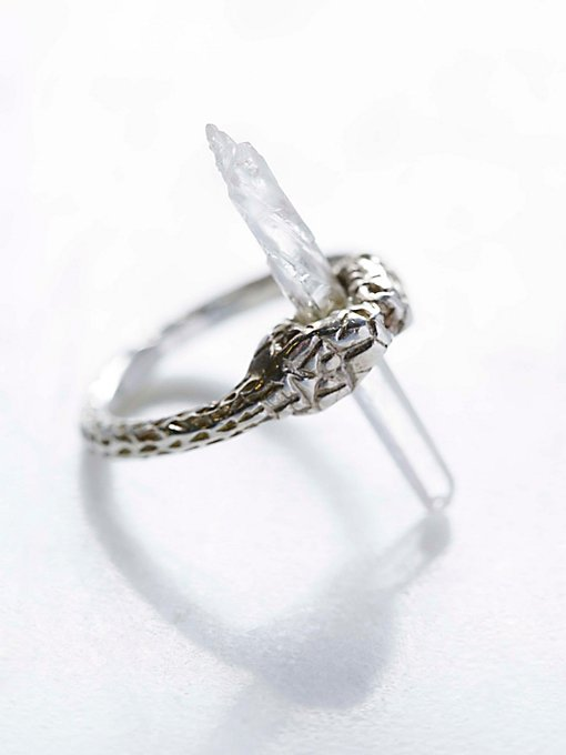 Kissing Serpent Ring