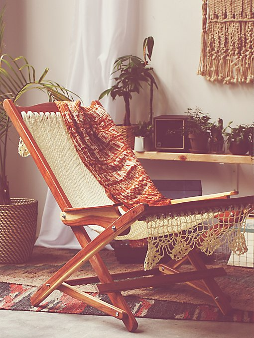 Hammock Chair With Macrame