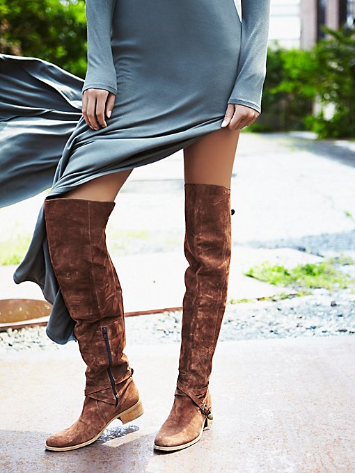 Amorosa Suede Over The Knee Boot
