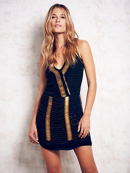 Chain Shift Dress